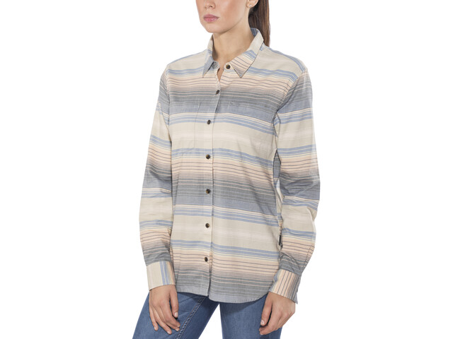 Patagonia Catbells - T-shirt manches longues Femme - Multicolore